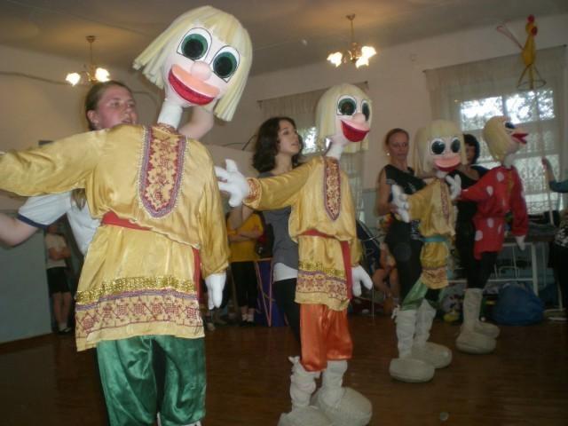 Напольные куклы для театра своими руками